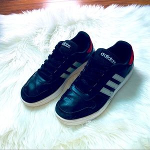 Adidas Hoops 2.0 Athletic Casual Shoes Size 9 EUC